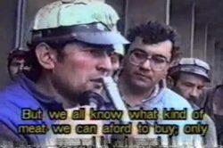 Mineriada No. 4 - Inceputul - Petrosani 24 septembrie 1991