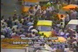 Mineriada din 1990......Street fight at revolution...iliescu