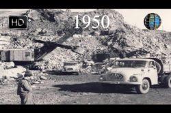 VIDEO Arhivă: 1950 Valea Jiului - centrul carbonifer al României HD