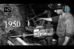 VIDEO Arhivă: 1950 Femeile lucrează în mine HD