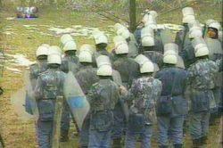 Mineriada ianuarie 1999 partea 4.mpg